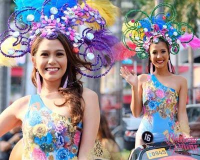Check out the sparkling Grand Parade of Binibining Pilipinas 2017