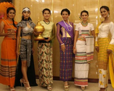Miss Earth Myanmar 2017 finalists flaunt innovative creation at Eco Fashion Show