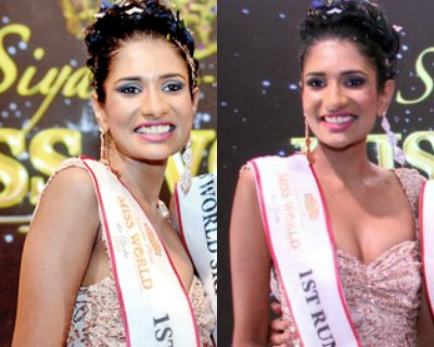 Jayathi De Silva crowned as Miss Universe Sri Lanka 2016