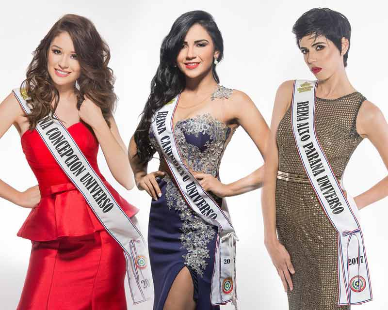 Meet the contestants of Miss Universe Paraguay 2017
