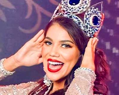 Alondra Mercado crowned Miss World Bolivia 2020