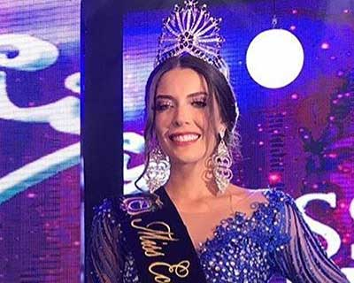 Cristina Hidalgo Berry crowned Miss Ecuador 2019 for Miss Universe 2019