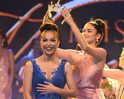 Maria Gail Tobes crowned as Miss Manila 2017