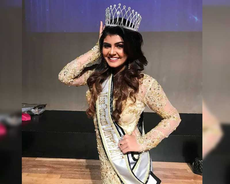 Nishita Purandare from India wins Miss Tourism Universe 2017