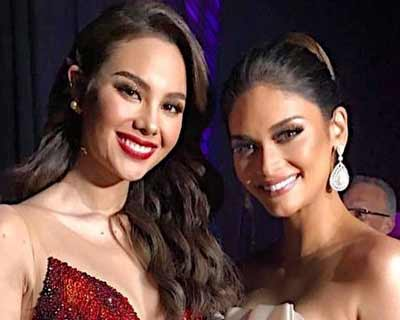 Miss Universe Queens Pia Wurtzbach and Catriona Gray team up for HIV Awareness campaign