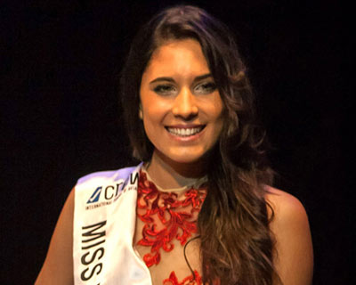 Anabel Delgado Torres is the new Miss International Spain 2016