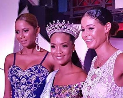 Stéphanie Morency crowned Miss World Haiti 2018