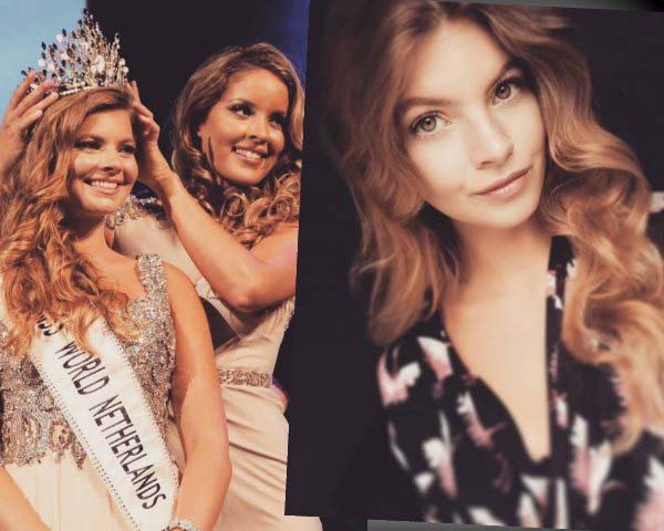 Philisantha Van Deuren crowned as Miss World Netherlands 2017