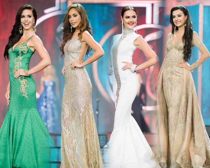 Top 10 Evening Gowns at preliminaries in Miss Grand International 2017