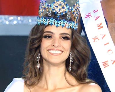 Vanessa Ponce de León crowned Miss World 2018