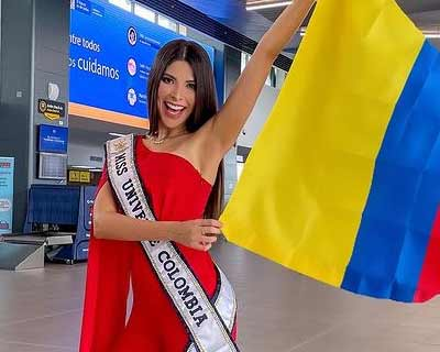 Colombia's Laura Olascuaga departs to USA for Miss Universe 2020