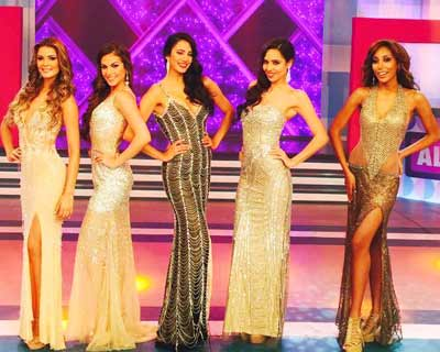 Miss Peru Universo 2015 Top 5 Finalists Announced