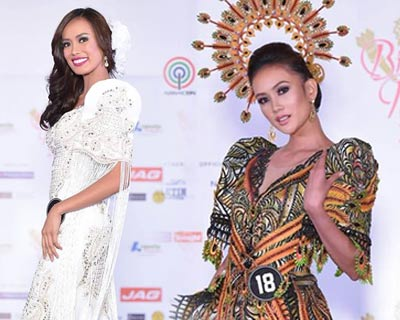 Binibining Pilipinas 2017 Top 10 National Costumes revealed