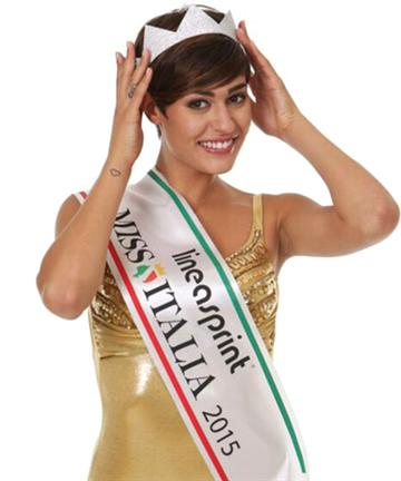 Miss Italia 2015   Winners. All a24e6c966ac4