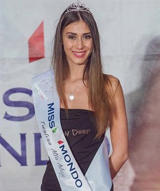 Miss World Italy 2015 Winner
