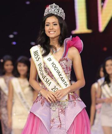 Miss Indonesia 2015 Winner