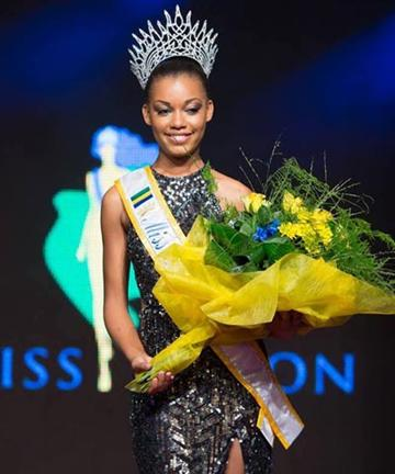 Miss Gabon 2015 Winner
