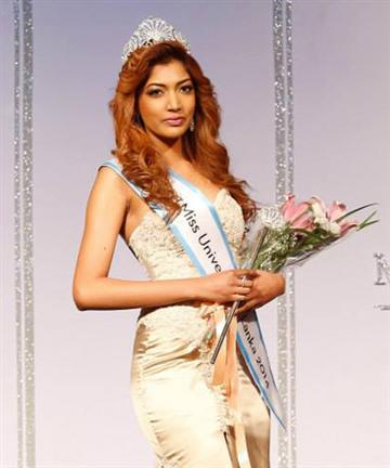 Miss Universe Sri Lanka 2014 Winner
