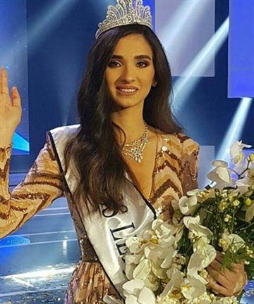 Miss Lebanon 2016 Winner