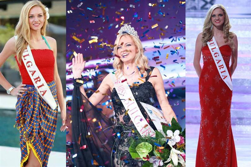 Nansi Nikolaeva Karaboycheva Miss World Bulgaria 2013