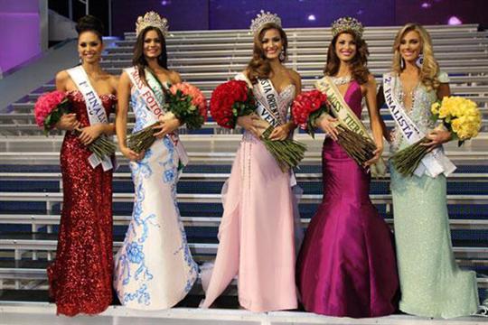 Miss Venzuela 2013 winners