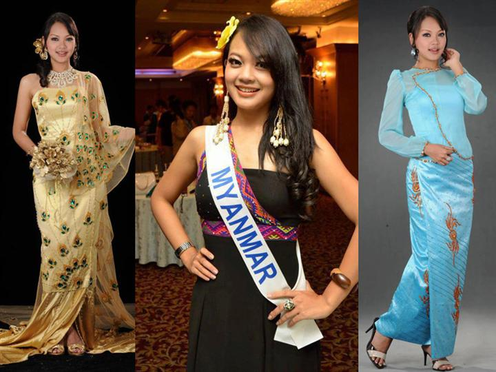 Nang Khin Zay Yar Miss Myanmar International 2012