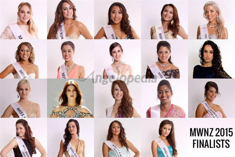 Miss World New Zealand 2015 contestants