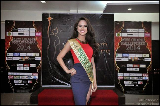 Annalie Forbes Miss Grand International 2013 Third Runner-up