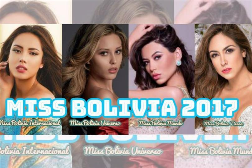 Miss Bolivia is a national beauty pageant held in Bolivia to select representatives for the Miss Universe, Miss World, Miss International and Miss Earth beauty pageant