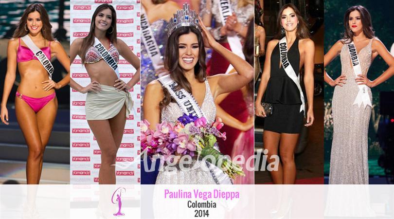 Miss Universe, Paulina Vega Dieppa