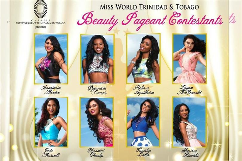The finale of Miss World Trinidad and Tobago 201 7 was held on 16th July 2017