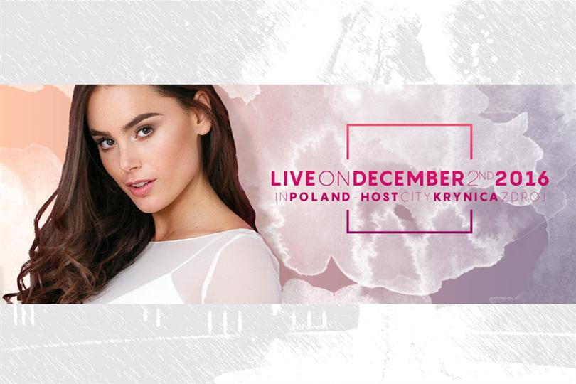 Miss Supranational 2016 is scheduled to be held on 2nd December 2016 at the Spa Resort of Krynica- Zdrój, Poland