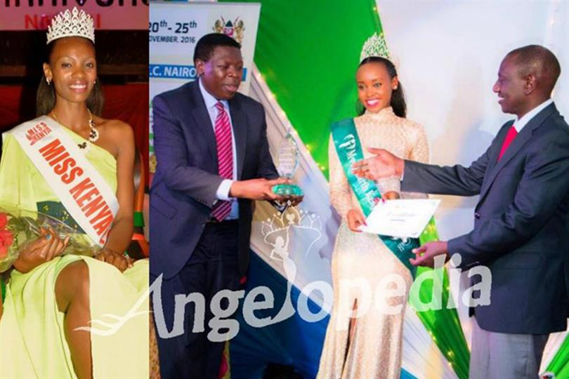 Miss Kenya is the national pageant of Kenya. It selects representative to participate at the Big 4 beauty pageant of the world, Miss Earth every year