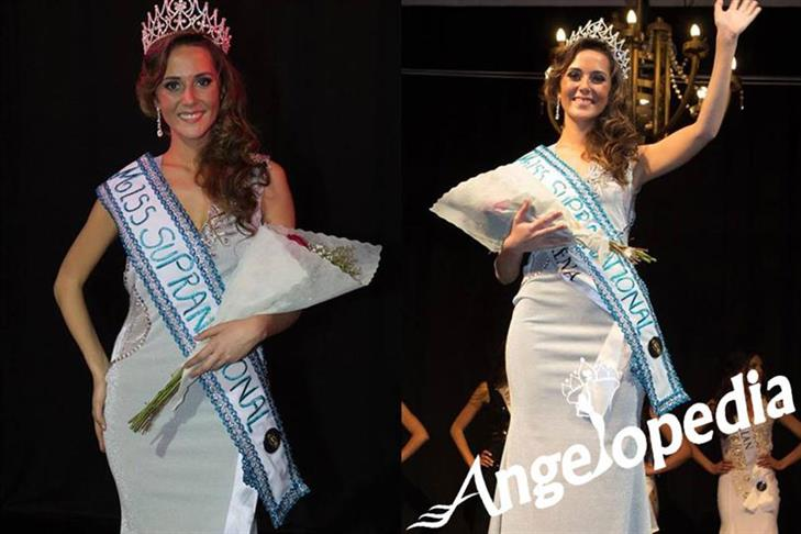 Miss Supranational Chile 2016 is Trinidad Rendic Munizaga and crowned as the new queen