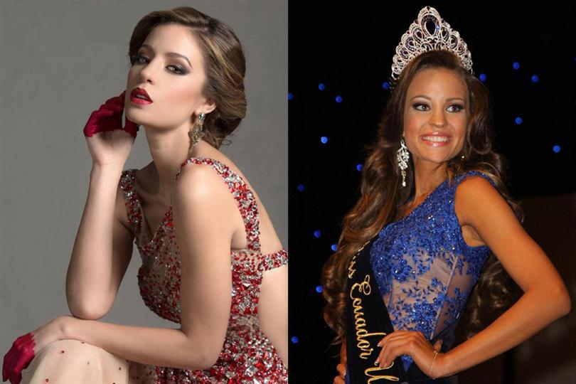 Alejandra Argudo Miss Universe Ecuador 2014