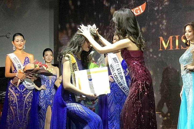 Haruka Oda Crowned Miss Grand Japan 2018