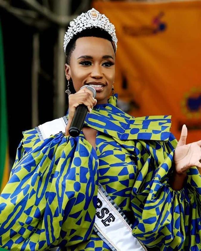 Miss Universe 2019 winner Zozibini Tunzi