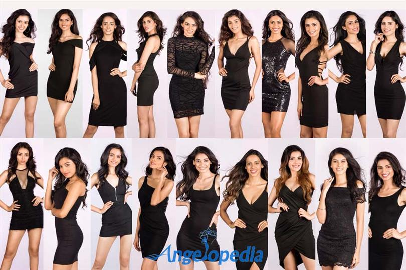 Miss Universe India 2018 Meet the Contestants