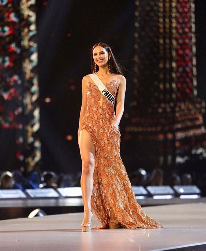 Best in Evening Gown at Miss Universe 2018 Preliminary Competition