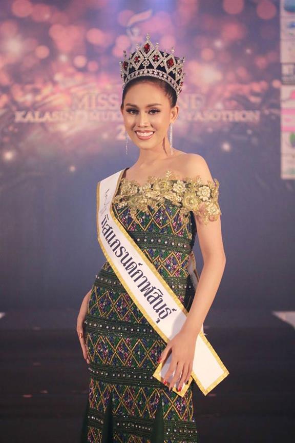 Nattaya Pairin crowned Miss Grand Kalasin 2019 for Miss Grand Thailand 2019