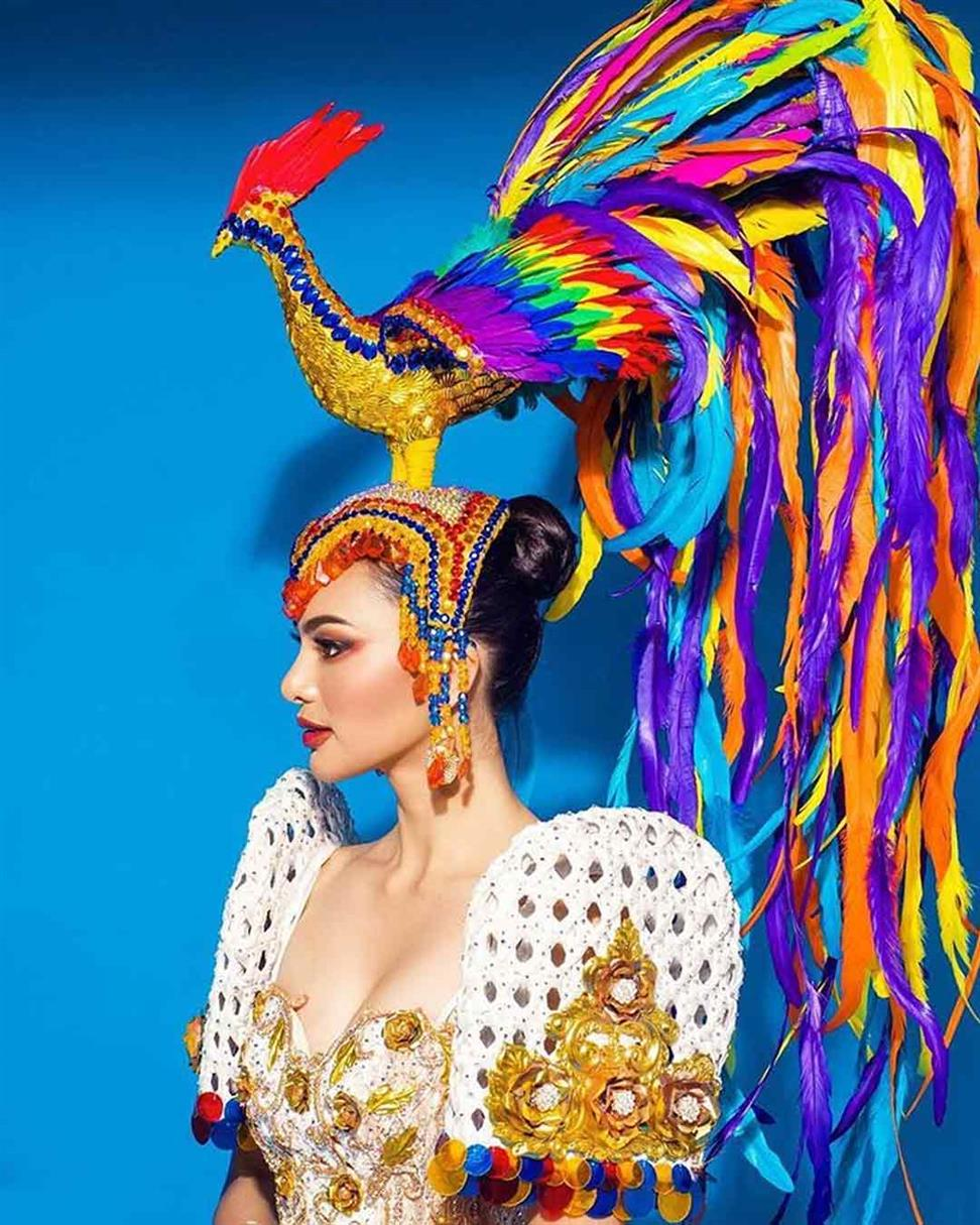 Filipina Emma Tiglao's National Costume 'Buklod' revealed for Miss Intercontinental 2019