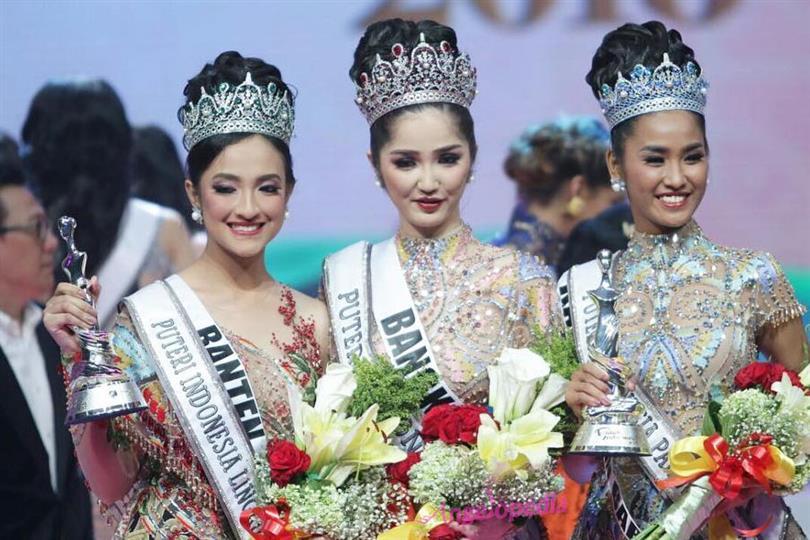 Sonia Fergina crowned Puteri Indonesia 2018
