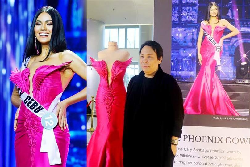 Gazini Christiana Ganados supports her Filipino designer Cary Santiago against criticism on his designs