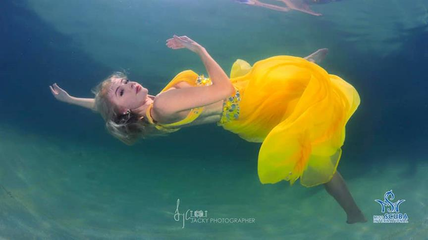 Our favourites from the Underwater shoot of Miss Scuba International 2019