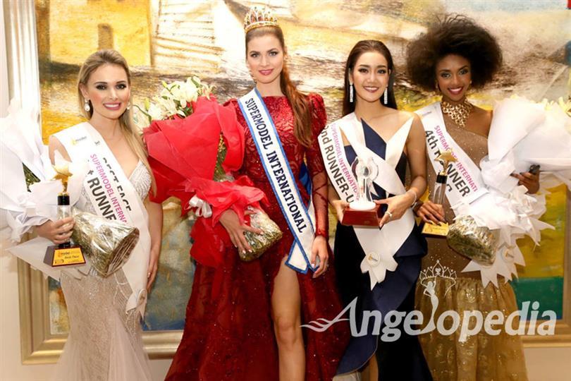 Alena Spodynyuk of Ukraine crowned as Miss Supermodel International 2017