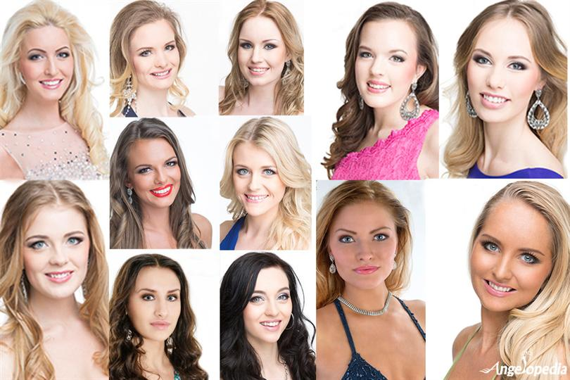 Miss World Sweden 2015 contestants finalists candidates