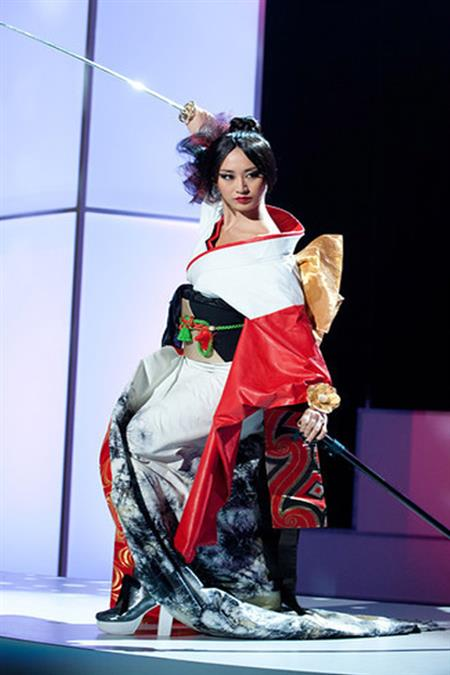 Maria Kamiyama Miss Universe Japan 2011
