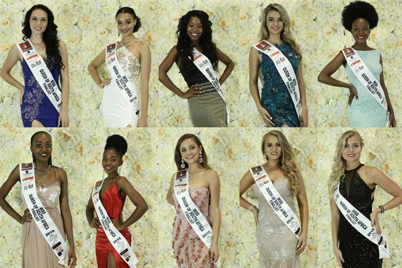 Miss Queen of South Africa 2019 Meet the Contestants