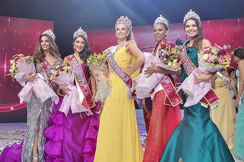 Chaiyenne Huisman of Spain crowned Miss Asia Pacific International 2019