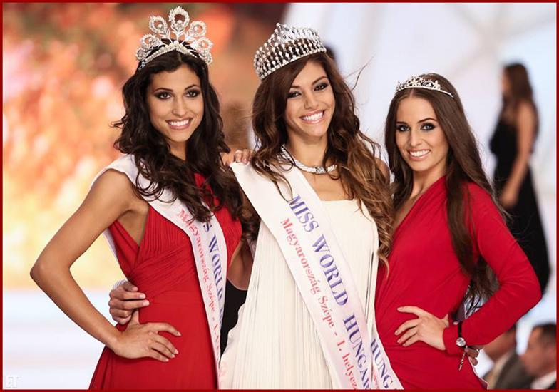 Miss World Hungary 2014 Winners